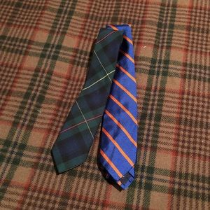 Pair of Boys Neckties, POLO and Lands End
